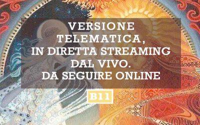 B11 ONLINE | SII IL CAMBIAMENTO CHE VUOI DAL MONDO | 16 – 18 ottobre | Armeno (NO)
