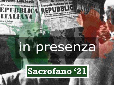 LA RIVOLUZIONE COSTITUZIONALE   12-14 novembre   Sacrofano (Roma)